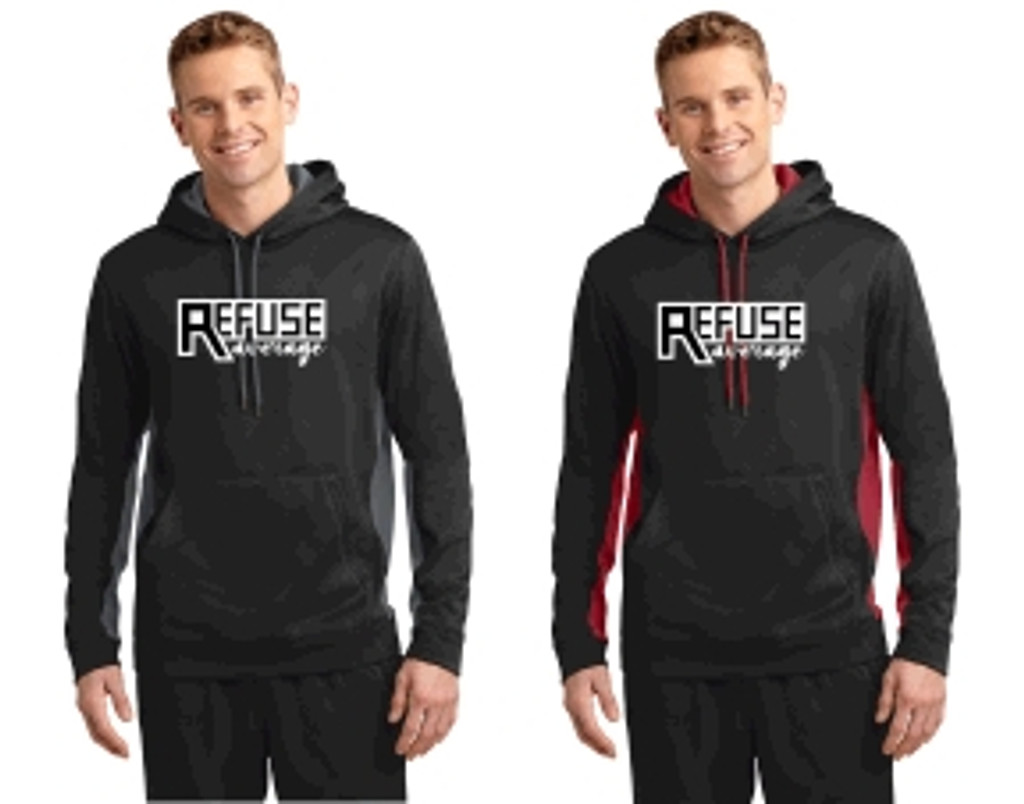 Adult Performance Hooded Sweatshirt w/ Printed Logo TALL_TRAINER