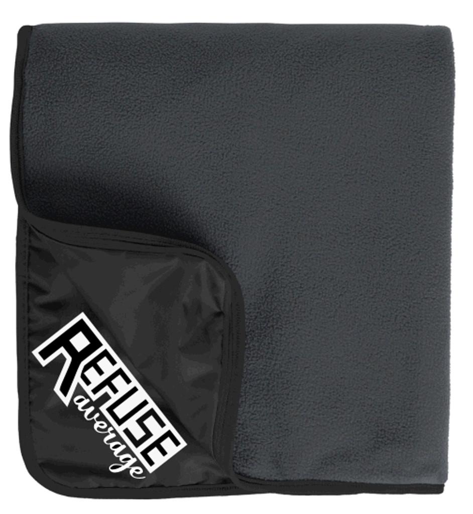 Fleece/Nylon Blanket w/ Embroidered Logo, TALL_T