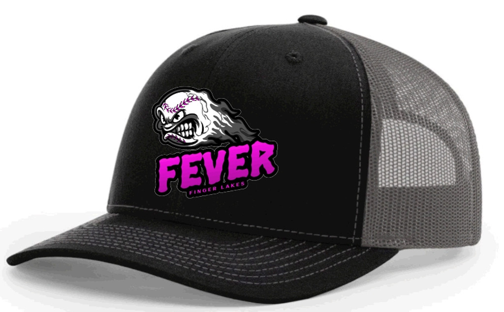 Trucker hat w/ embroidered FL FEVER Logo
