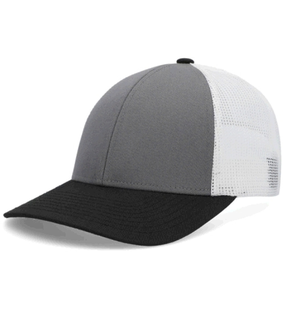 Pacific Headwear P114 Low Profile Snapback Adjustable Trucker Hat