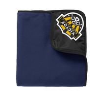 Fleece/nylon blanket w/ embroidered logo VSOCCER