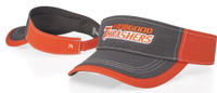 Richardson #775 Charcoal Front w/ contrasting stitching  Adjustable Visor