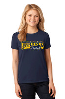 Cotton t shirt w/ printed logo, Women's sized Victor Softball