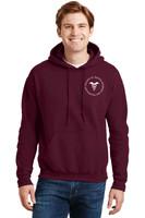 Adult cotton Hooded sweatshirt w/ printed logo RITCHST