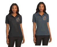 Port Authority® L500 Women's polo shirt w/ embroidered logo