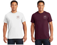 Cotton T-shirt w/ Printed Logo, Adult RITCHST
