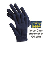 Knit Gloves w/ Embroidered Logo