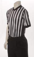 Smitty BKS-209 Performance V-Neck Basketball Referee Shirt w/Side Panels