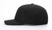 Richardson Pro Mesh Umpire Base Cap, 8 Rows of Stitching, Navy or Black