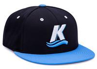 Pacific Headwear 9D7P D-Series Universal Fit Custom Flat Bill Baseball Hat