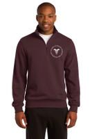 Adult 1/4 Zip Cotton Sweatshirt RITCHST