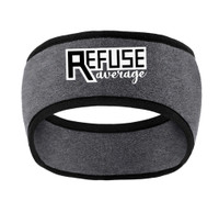 Fleece Headband with Embroidered Logo, TALL_T