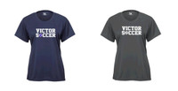Badger Performance T-Shirt, Women's Sized w/ Printed Logo