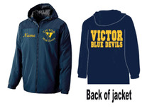 Hooded Cold-Weather Jacket w/ Printed and Embroidered Logo VICTOR DFS