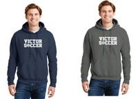 Adult Cotton Hooded Sweatshirt w/ Printed Logo VSOCCER