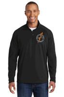 Adult ST850 Sport-Wick® Stretch 1/2-Zip w/ Embroidered Logo