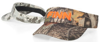 Richardson Camouflage Cotton Twill Visor