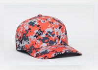 Pacific Headwear 708F Performance Digital Camo Universal Fit Baseball Hat