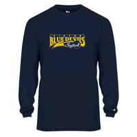 Performance Long-Sleeve T shirt w/ printed logo, Adult sized Victor Softball