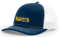 Trucker hat w/ embroidered Victor Softball