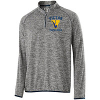 Long-sleeve lightweight training top, Adult, Victor Track