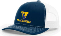 Trucker hat w/ embroidered Victor Track