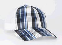 Pacific Headwear 109C Plaid Snapback Adjustable Trucker Hat