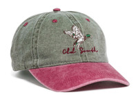 Pacific Headwear 300WC Washed Pigment Dyed Unstructured Hook and Loop Back Hat
