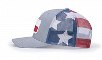 Richardson 112PM Printed Mesh Snapback Trucker Hat