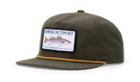 Richardson 256 Umpqua Fishermen's Flat Bill Hat