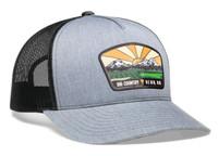 Pacific Headwear 105C 5-panel Mesh Snapback Trucker Hat