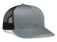 Pacific Headwear 105C 5-panel Mesh Snapback Trucker Hat