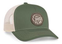 Pacific Headwear 104S Contrast Stitching Mesh Trucker Hat