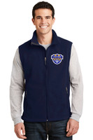 Fleece vest, Adult, w/ embroidered logo VSOCCER
