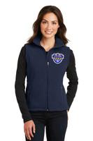 Fleece vest, Women's, w/ embroidered logo VSOCCER