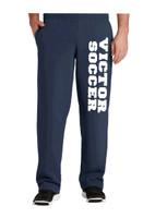 Cotton Pants, Unhemmed w/ Oversized printed logo VSOCCER