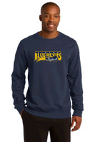Cotton Crew neck Sweatshirt w/ Printed Logo Victor Softball