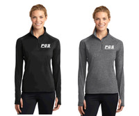 Women's LST850 Women's Sport-Wick® Stretch 1/2-Zip w/ Embroidered Logo, PGS
