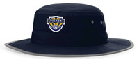 Wide Brim Sun Hat w/ Embroidered Logo, VSOCCER