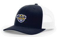 Trucker hat w/ embroidered Victor Soccer