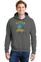 Adult Cotton Hooded Sweatshirt w/ Printed Logo VBAND