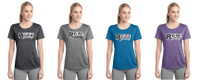 Women's Performance Heathered T w/ Printed Logo,  TALL_TRAINER