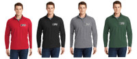 Adult Sport-Wick® Stretch 1/2-Zip w/ Logo, TALL_T