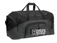 Color Block Sports Duffel Bag w/ embroidered logo, TALL_T
