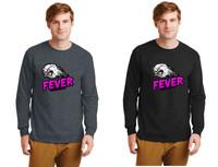 Cotton Long-Sleeve T-Shirt w/ Printed Logo, Adult, FL FEVER
