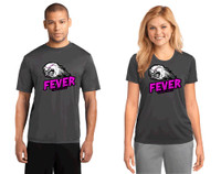 Performance  t shirt w/ printed logo, Adult or Women's , FL FEVER