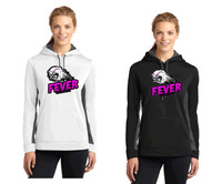 Women's Performance Hooded Sweatshirt w/ Printed Logo FL FEVER