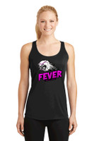 Racerback tank top w/ printed logo, Women's sized, FL FEVER