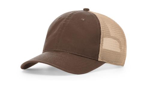 Richardson 211 Tumalo Washed Snapback Mesh Trucker Hat