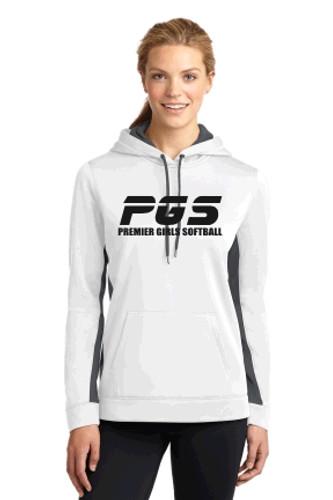 Women's Performance Hooded Sweatshirt w/ Printed Logo PGS